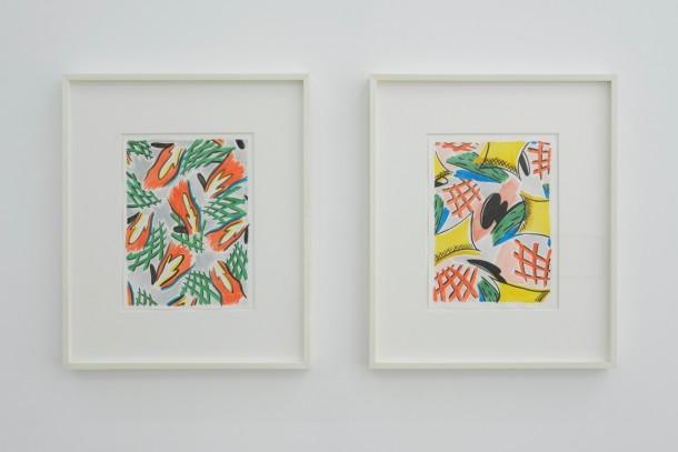 Christian Newby, Parlour Ape Pattern N°6 & N°5, 2013