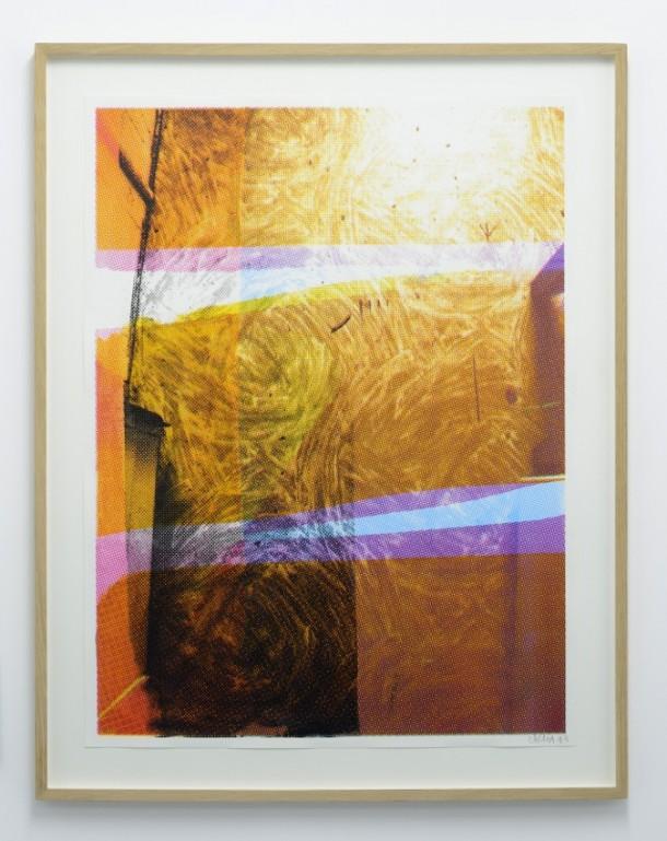 Sol cuisine 3 - 2013 - silkscreen - 62 x 83 cm
