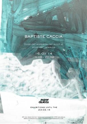 Invitation Baptiste Caccia