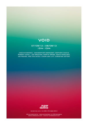 "Invitation opening ""Void"""