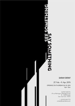 Invitation Sarah Derat