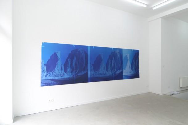 """Sebastien Bonin, """"Travelling (Sunset RedI), 2015"""