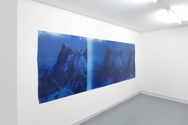 """Sebastien Bonin, """"Travelling (Sunset Red IV), 2015"""